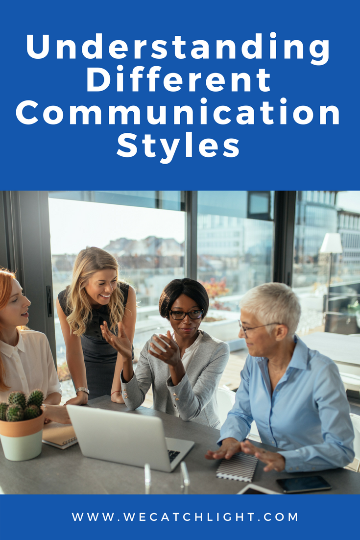 different communication style Accommodating different communication styles people communicate differently this module shows how people vary in the way in which they are best able to understand and interpret communicated messages.